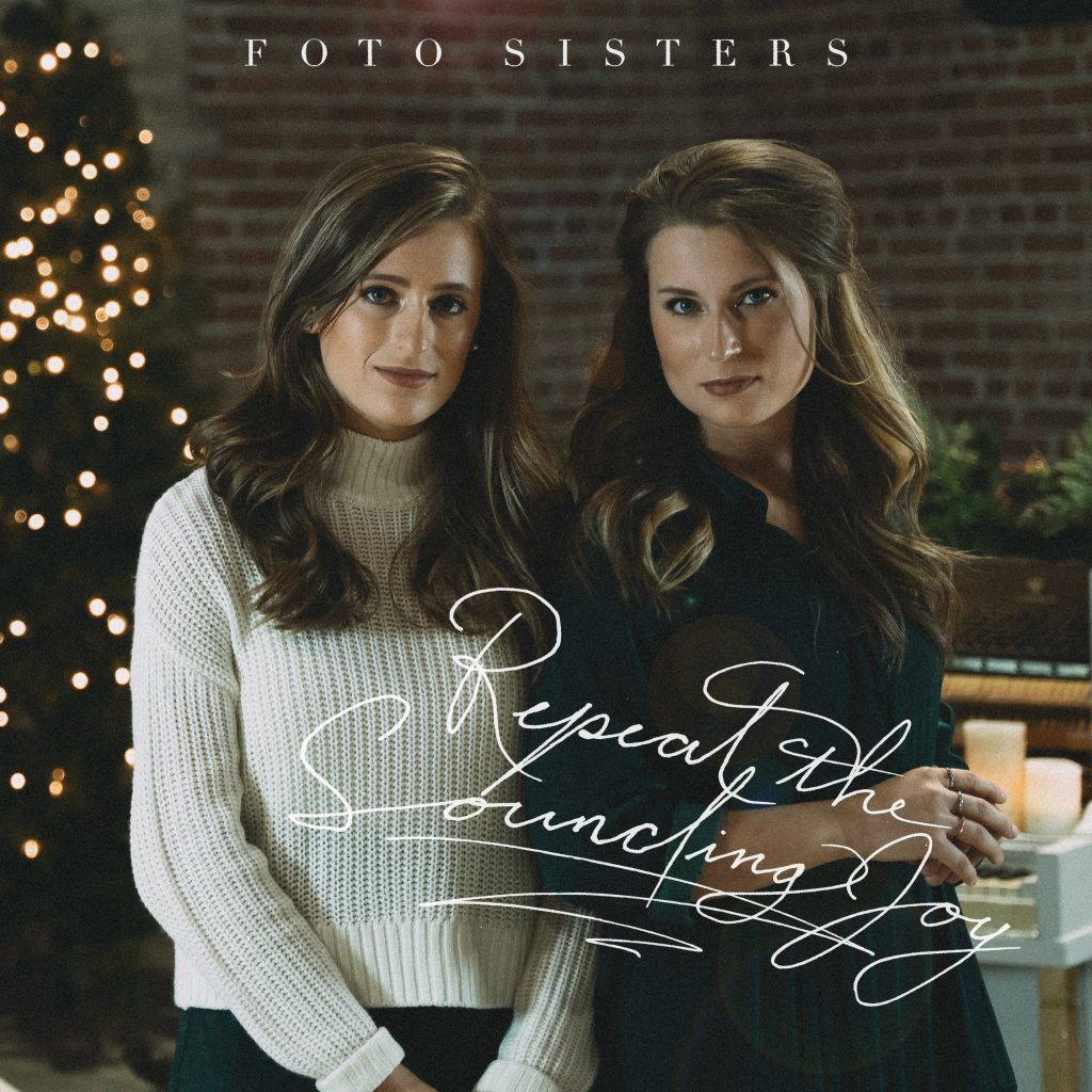 """Repeat the Sounding Joy"" Christmas single cover artwork"