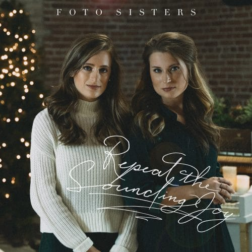 """Repeat the Sounding Joy"" Christmas single cover artwork"