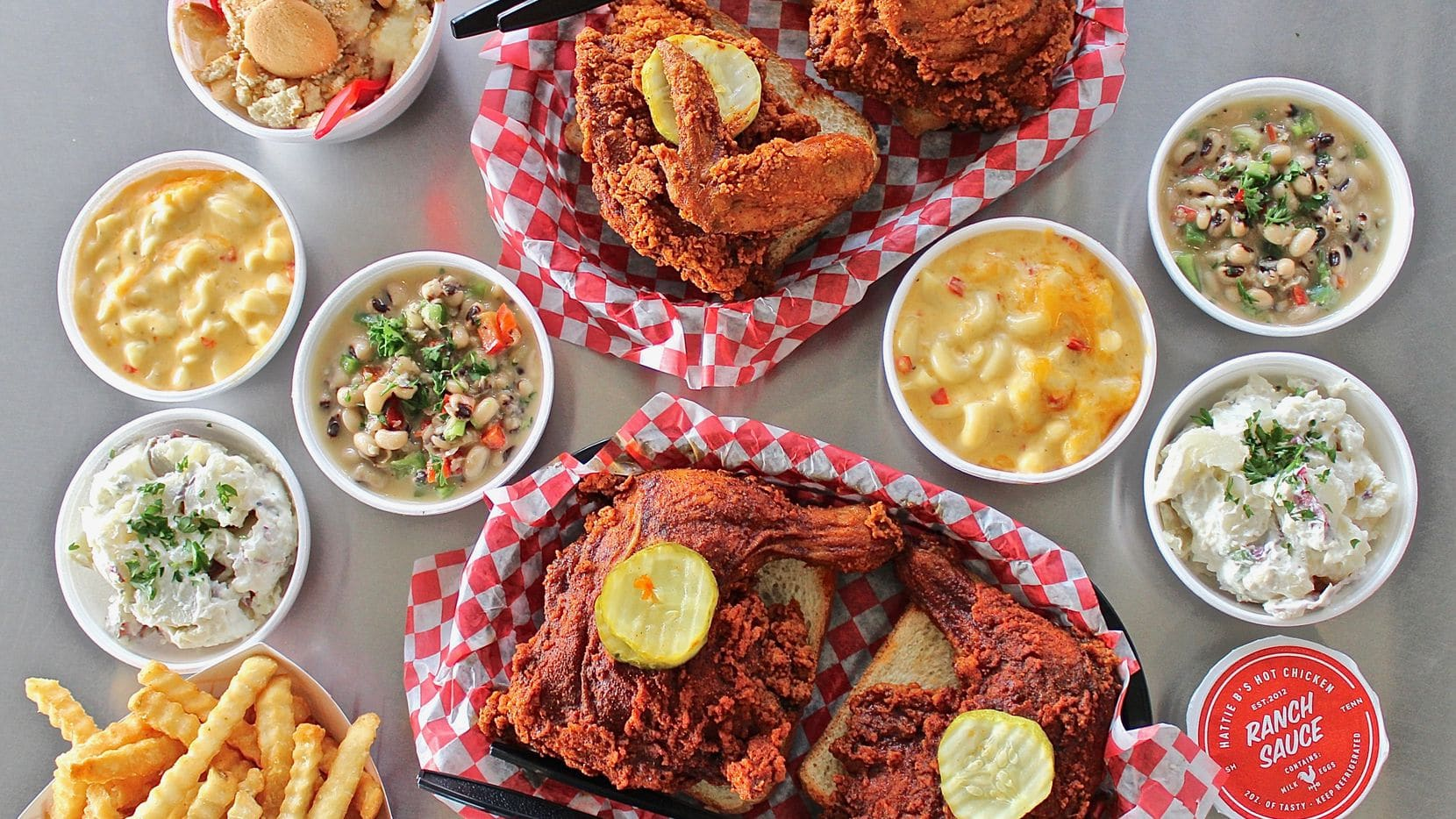 Hattie B's Spicy Chicken in Nashville, TN